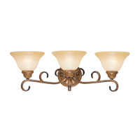 Livex Lighting Bistro 3 Light Bath Light in Venetian Patina 8283-57