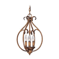 Livex Bistro 4 Light Hall/Foyer in Venetian Patina 8286-57