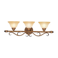 Livex Lighting Bistro 3 Light Bath Light in Venetian Patina 8293-57 photo thumbnail