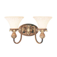 Savannah 2 Light 18 inch Venetian Patina Bath Light Wall Light