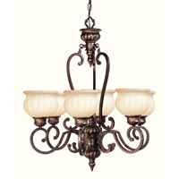 Livex Lighting Renaissance 6 Light Chandelier in Moroccan Gold 8436-50