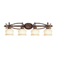 Livex Lighting Renaissance 4 Light Bath Light in Moroccan Gold 8444-50