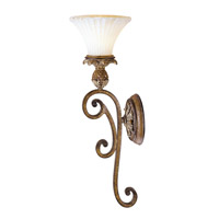 Savannah 1 Light 7 inch Venetian Patina Wall Sconce Wall Light