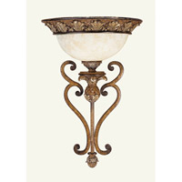 Livex Lighting Savannah 1 Light Wall Sconce in Venetian Patina 8460-57