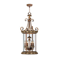 Livex Lighting Savannah 6 Light Foyer Pendant in Venetian Patina 8465-57