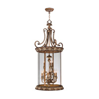 Savannah 9 Light 21 inch Venetian Patina Foyer Pendant Ceiling Light