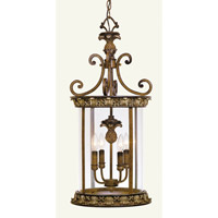 Livex Lighting Savannah 4 Light Foyer Pendant in Venetian Patina 8474-57