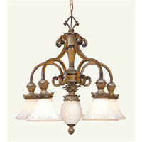 Livex Lighting Savannah 6 Light Chandelier in Venetian Patina 8475-57