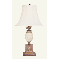 Livex Lighting Savannah 1 Light Table Lamp in Venetian Patina 8477-57