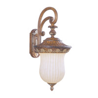 Livex Lighting Savannah 1 Light Outdoor Wall Lantern in Venetian Patina 8490-57