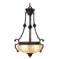Livex Lighting Aladdin 3 Light Chandelier in Rustic Copper 8507-47 photo thumbnail