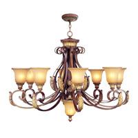 Livex 8586-63 Villa Verona 9 Light 40 inch Chandelier Ceiling Light