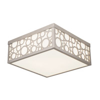 Livex Avalon 3 Light Flush Mount in Brushed Nickel 86793-91