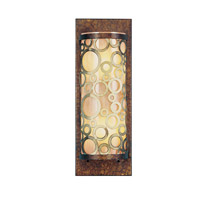 Livex Lighting Avalon 2 Light Wall Sconce in Palacial Bronze with Gilded Accents 8684-64