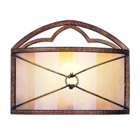Livex Lighting Bristol Manor 1 Light Wall Sconce in Palacial Bronze with Gilded Accents 8820-64