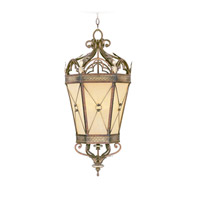 Livex Lighting Bristol Manor 2 Light Foyer Pendant in Palacial Bronze with Gilded Accents 8833-64 photo thumbnail