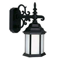 Livex Limited 1 Light Outdoor Wall Lantern in Black 9017-04