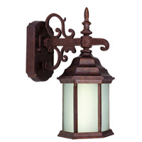 Livex Limited 1 Light Outdoor Wall Lantern in Weathered Brick 9017-18