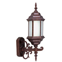 Livex Limited 1 Light Outdoor Wall Lantern in Weathered Brick 9018-18