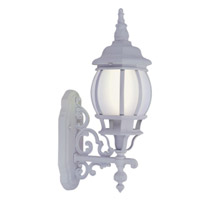 Livex Limited 1 Light Outdoor Wall Lantern in White 9020-03