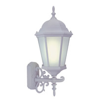 Livex Limited 1 Light Outdoor Wall Lantern in White 9026-03