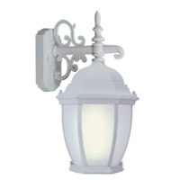 Livex Limited 1 Light Outdoor Wall Lantern in White 9050-03