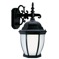Livex Limited 1 Light Outdoor Wall Lantern in Black 9050-04
