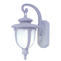 Livex Limited 1 Light Outdoor Wall Lantern in White 9057-03