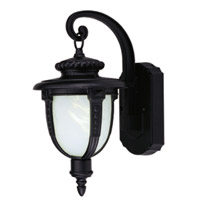 Livex Limited 1 Light Outdoor Wall Lantern in Black 9057-04