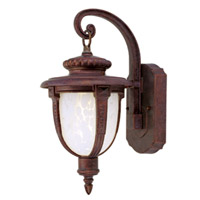 Livex Limited 1 Light Outdoor Wall Lantern in Weathered Brick 9057-18