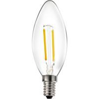 Livex 912022X10 Signature LED B10 Torpedo E12 Candelabra Base 2 watt 2700K Light Bulb Pack of 10