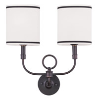 Livex Lighting Signature 2 Light Wall Sconce in Bronze 9122-07