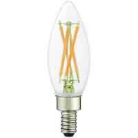 Livex 920401X10 Signature LED B10 Torpedo E12 Candelabra Base 4 watt 2700K Light Bulb Pack of 10