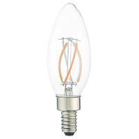 Livex 920414X10 Signature LED B11 Torpedo E12 Candelabra Base 4 watt 3000K Light Bulb Pack of 10