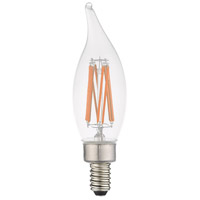 Livex 920511X60 Signature LED CA10 Flame Tip E12 Candelabra Base 5.3 watt 3000K Light Bulb Pack of 60