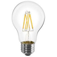 Livex 926082X60 Signature LED A19 Pear E26 Medium Base 8 watt 2700K Light Bulb Pack of 60