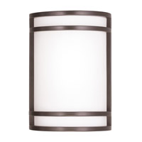 Livex Lighting Signature 2 Light Wall Sconce in Bronze 9414-07