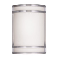 Livex Lighting Signature 1 Light Wall Sconce in Brushed Nickel 9414-91