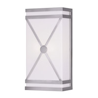 Livex Lighting Signature 2 Light Wall Sconce in Brushed Nickel 9415-91
