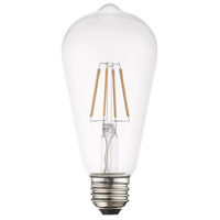Livex 960401X10 Signature LED ST19 Edison E26 Medium Base 4 watt 2700K Light Bulb Pack of 10