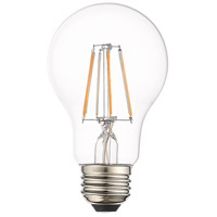 Livex Lighting 960403X60 Allison A19 Pear E26 Medium Base 5.50 watt 2700K Filament LED Bulbs