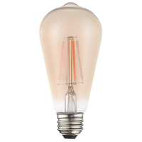 Livex 960421X10 Signature LED ST19 Edison E26 Medium Base 4 watt 2200K Light Bulb Pack of 10