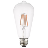 Livex 960801X10 Signature LED ST19 Edison E26 Medium Base 7.7 watt 2700K Light Bulb Pack of 10