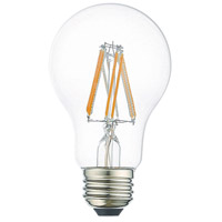 Livex 960807X10 Signature LED A19 Pear E26 Medium Base 7.7 watt 2700K Light Bulb Pack of 10