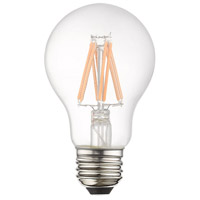 Livex 960816X10 Signature A19 Pear E26 Medium Base 7.7 watt Soft White Color 3000K Filament Graphene LED Bulbs, Pack of 10