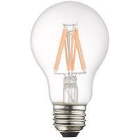 Livex 960816X60 Signature A19 Pear E26 Medium Base 7.7 watt Soft White Color 3000K Filament Graphene LED Bulbs, Pack of 60