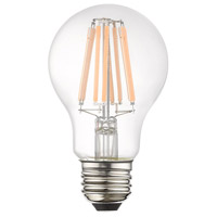 Livex 960896X60 Signature LED A19 Pear E26 Medium Base 8.5 watt 3000K Light Bulb Pack of 60