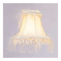 Livex S106 Chandelier Shade Hand-Made Off-White Linen Hardback Shade Shade