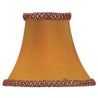 Chandelier Shade Gold/Burgundy Illusion Shade