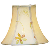 Chandelier Shade Embroidered Floral Shade